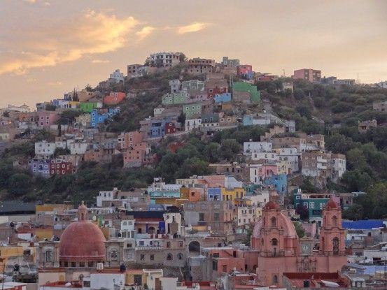Mexique: Ville Coloniale de Guanajuato, inscrite à l'UNESCO