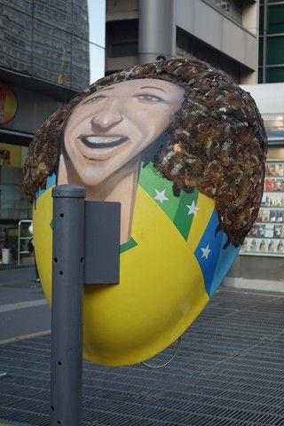 Bresil- Sao Paulo: Vous avez compris, San Paulo n´est pas une belle ville mais au niveau culturel et de de l´art, la ville est en pointe.